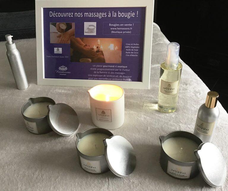 Massage à la bougie Hémassens Fameck Moselle