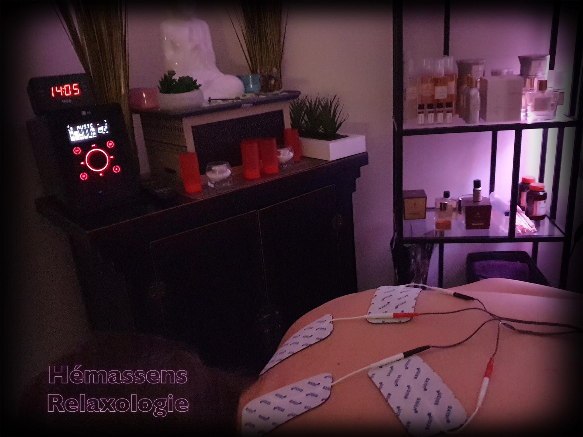 Séances neurostimulation et massages Hémassens Relaxologie Fameck